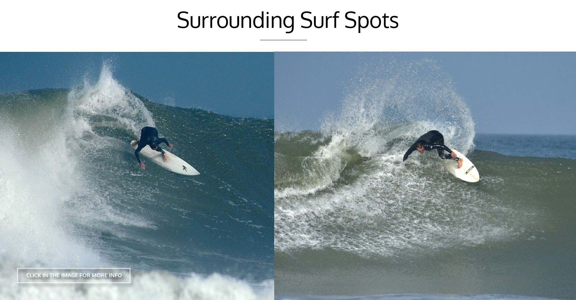 SURROUNDING SURF SPOTS