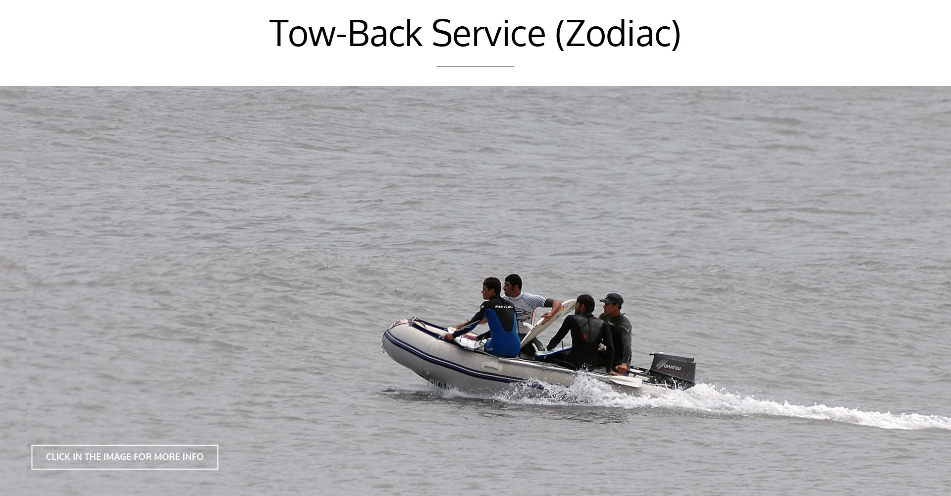TOW- BACK SERVICE