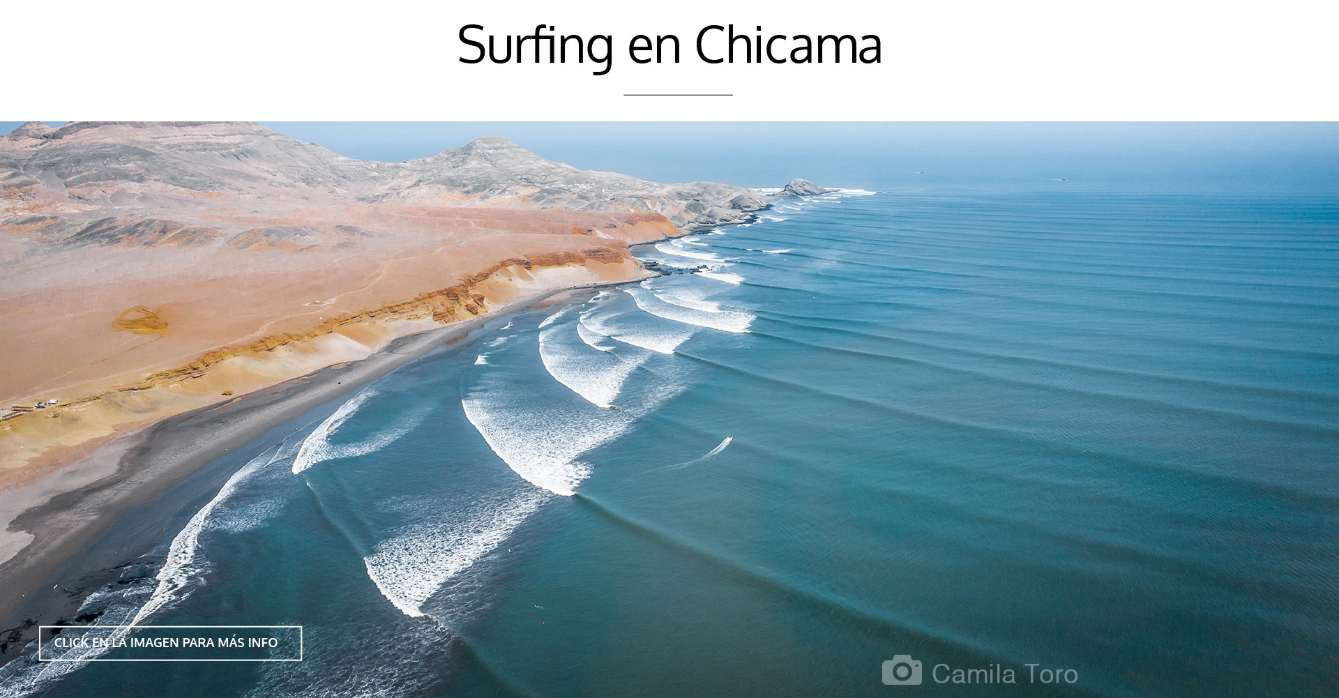 SURFING EN CHICAMA